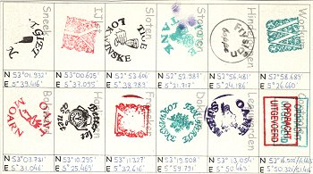 stamps card