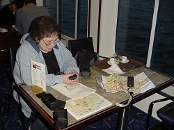 Working out our caching strategy for Newcastle aboard the Princess of Norway