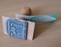Team Johny Cache rubber stamp